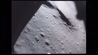 Textured Lunar Terrain From Module Window