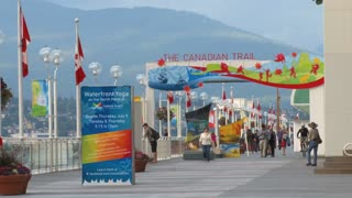 The Canadian Trail Entrance