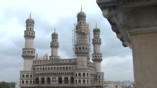 The Charminar in Hyderabad in India