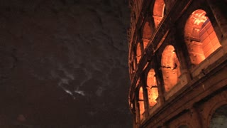 The Colosseum at Night Panning