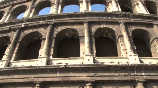 The Colosseum Slow Tilt View 2