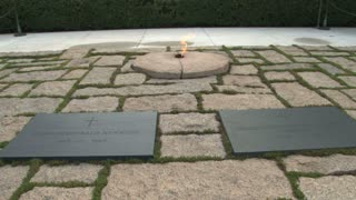 The Eternal Flame at John F. Kennedys Gravesite 3