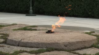 The Eternal Flame at John F. Kennedys Gravesite