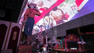 The Freemont Street Experience in Downtown Las Vegas,  Nevada, Las Vegas, United States of America,