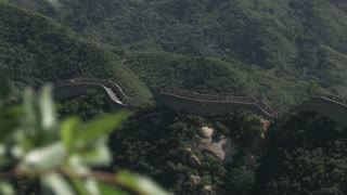 The Great Wall of China in Badaling Section