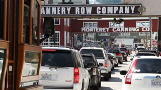 The Heavy Traffic Cannery Row Monterey California