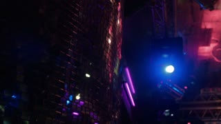 The light equipment at night club