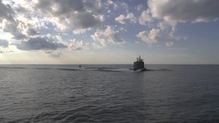 The newest Virginia-class submarine Minnesota (SSN 783)