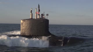 The newest Virginia-class submarine Minnesota (SSN 783)