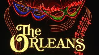 The Orleans Neon Sign