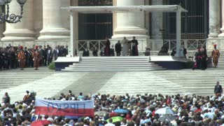 The Pope at St. Peters Square