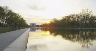 the Reflecting Pool, Washington DC