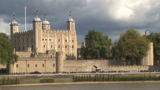 The Tower Of London By River Thames