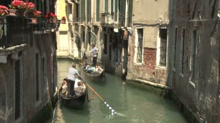 Three Gondola Rides in Venice
