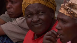 Three Older Women in Kenya