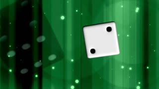 Throwing Dice on Green