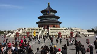 Tian Tan complex, Temple of Heaven, Qinian Dian temple, Beijing, PRC, People's Republic of China, Asia
