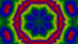 Tie Dye Kaleidoscope