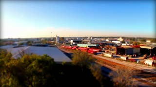 Tilt Shift Factory Scene 2