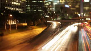 Tilt Shift LA Freeway Timelapse