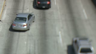 Tilt Shift Los Angeles Highway
