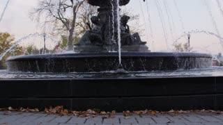 Tilt Up on Fountain