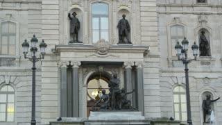Tilt Up on Parliament Buliding