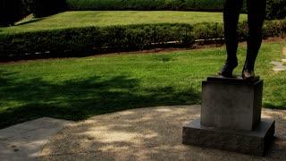 Tilt Up Rocky Balboa Statue