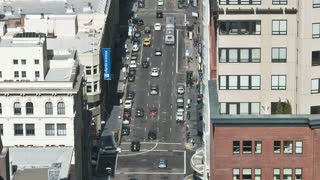Tilt Up San Francisco City Driving