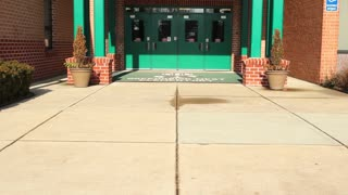 Tilt Up School Entrance
