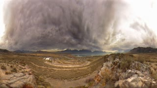 Time Lapse Fisheye Clouds 7