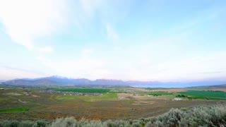 Time Lapse flat landscape