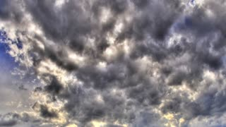 Time Lapse high contrast clouds