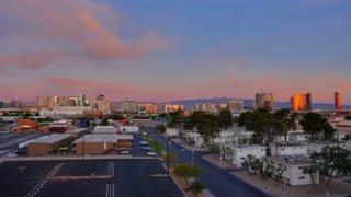Time Lapse Las Vegas Skyline 2