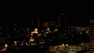 Time Lapse Las Vegas skyline sunrise 2