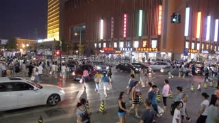Time Lapse of Busy Beijing Streets