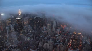 time lapse of new york city at night nyc