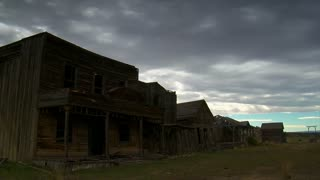 Time Lapse Of Old Western Movie Set