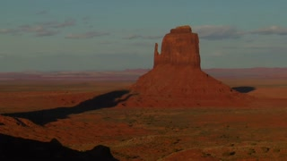 Time Lapse Of Shadows Monument Valley Utah