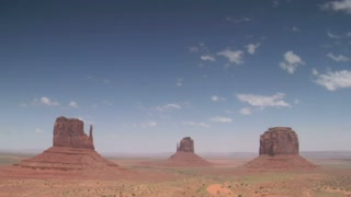 Time Lapse Of Windstorm In Monument Valley
