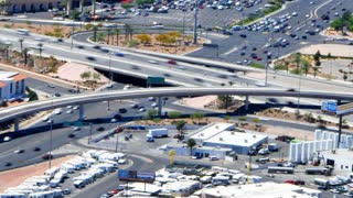 Time Lapse Traffic Patterns Bridges