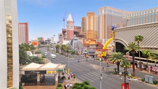 Time Lapse Traffic Patterns on Las Vegas Strip