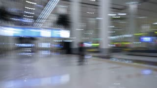 Time Lapse travel around the Modern Architecture of Dubai International Airport, UAE