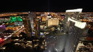 Time Lapse Vegas Lights Skyline