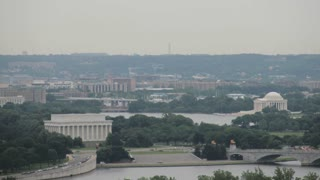 Time Lapse Zoom on Jefferson Memorial