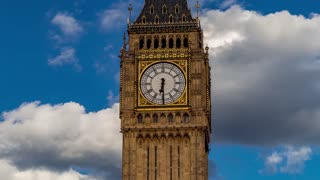 Timelapse Big Ben - London