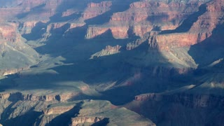Timelapse Cloud Shadows At Grand Canyon