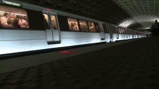 Timelapse DC Metro Station