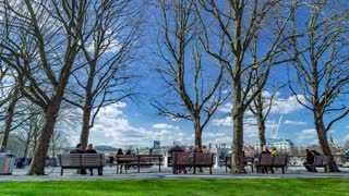 Timelapse Docks Park - London