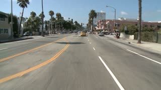 Timelapse Driving In Santa Monica